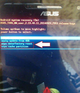 Cara Flash Asus Zenfone 5 T00F/T00J Bootloop Via Flash Tool