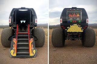 Sin City Hustler the Monster Truck Limousine Rear