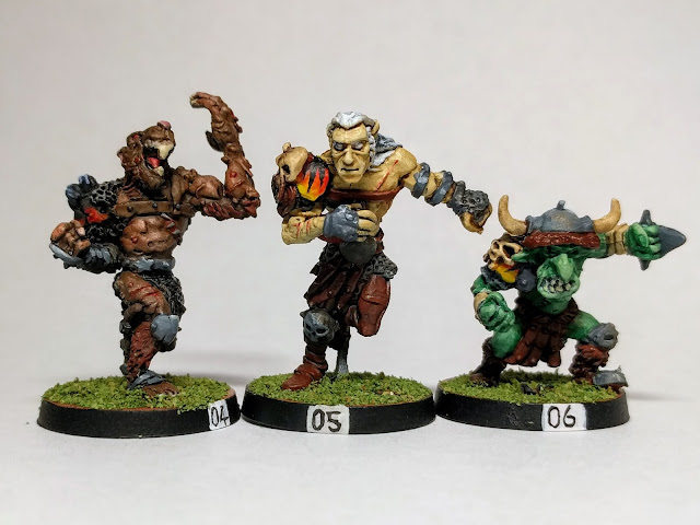Skaven, Dark Elf and Goblin