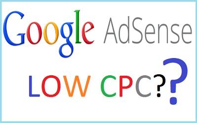 Adsense Low CPC