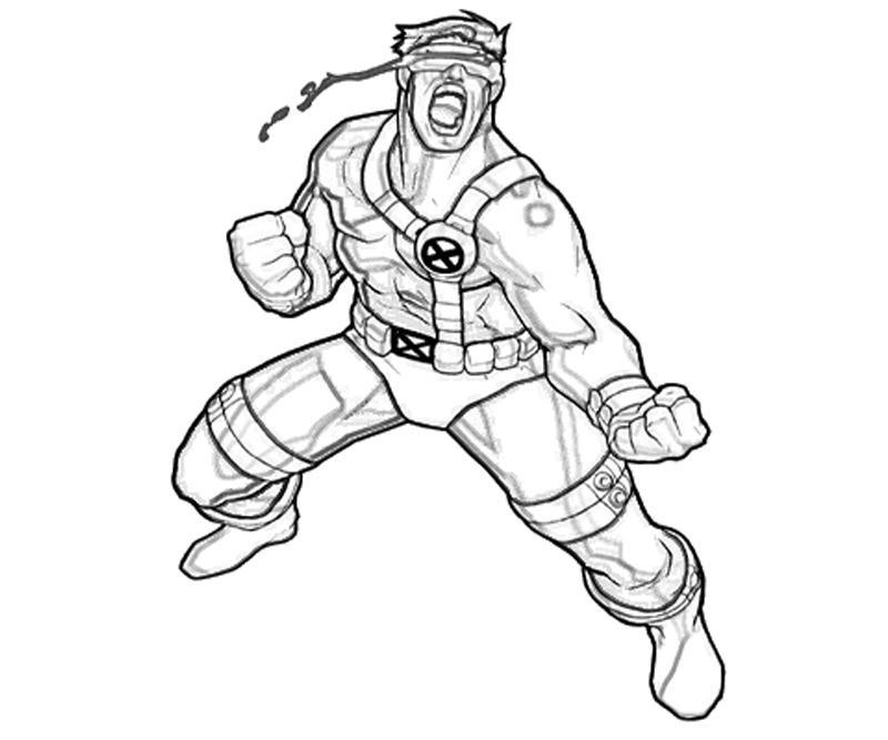 Select from 35450 printable coloring pages of cartoons, animals, nature, bible and many more. X Men Cyclops Armor Yumiko Fujiwara
