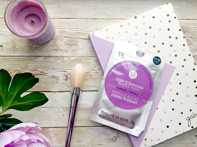 Primark PS..Deep Cleansing Bubble Mask Review
