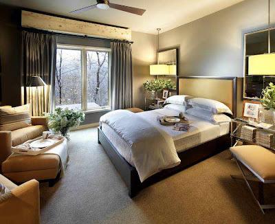 desain kamar tidur utama yang mewah   desain rumah minimalis