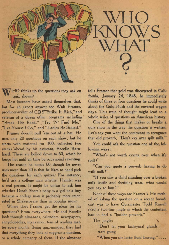 Read online Detective Comics (1937) comic -  Issue #152 - 37