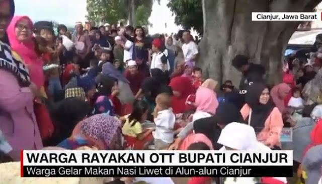 Bupati Masuk Bui KPK Warga Cianjur Ucapkan Alhamdulillah, 2019 Ganti Presiden