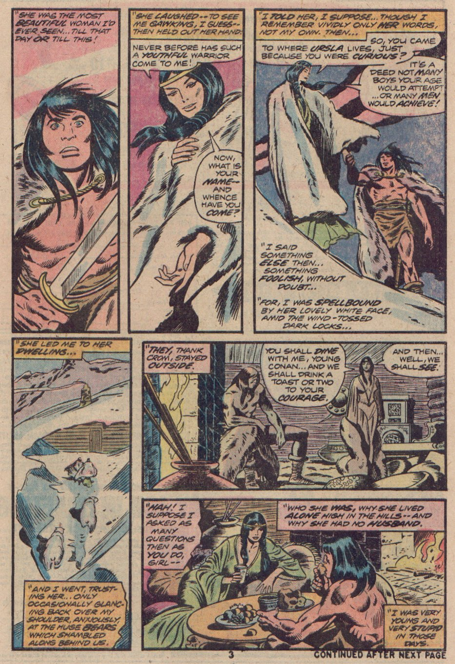 Conan the Barbarian (1970) 48 Page 3