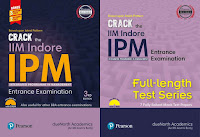 A complete preparation combo of Crack the IIM Indore - IPM Entrance Examination & Full Length Test Series (2 books set)