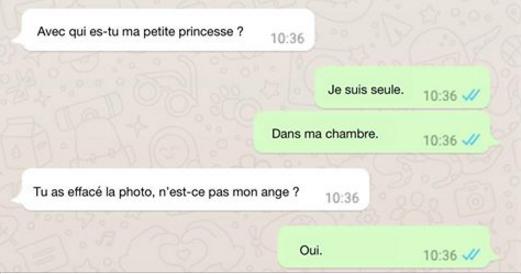 Cet homme envoie des photos de son sexe à une petite fille de 11 ans. Mais lorsqu'il la convainc de le rencontrer, la situation prend un tournant inattendu.