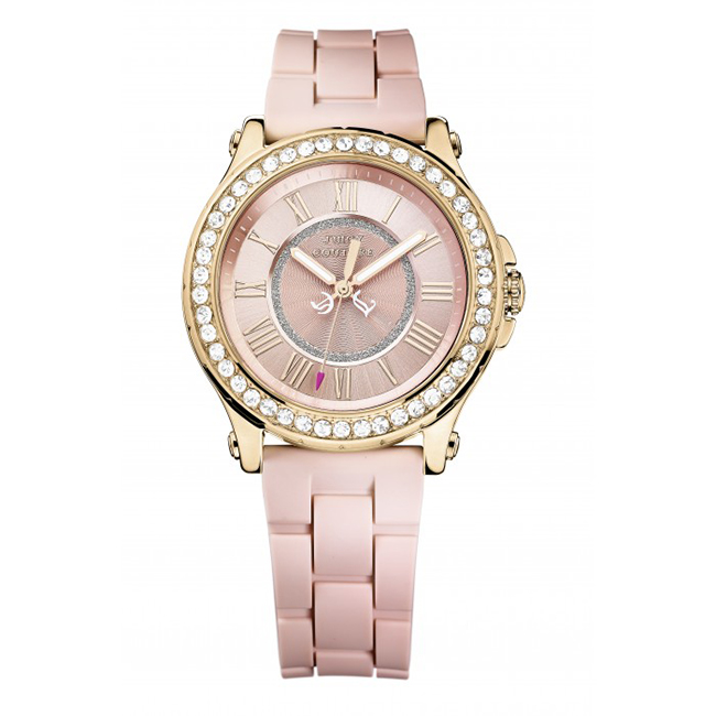 Valentine's Day Gift Ideas: Juicy Couture Rose Gold Pedigree Watch