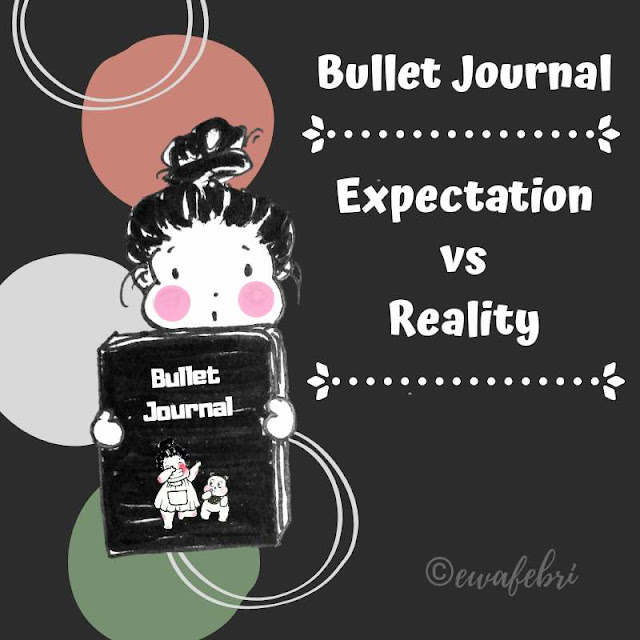 bullet journal expectation vs reality