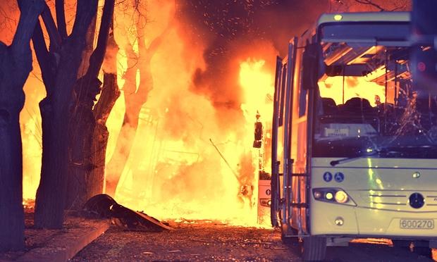 Setelah Bom Ankara, Turki Gempur Markas Militan Kurdi
