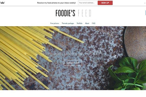 Situs Penyedia Gambar Gratis Foodiesfeed