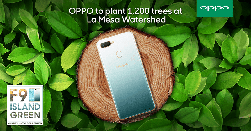 OPPO and Bantay Kalikasan partner to plant trees at La Mesa Watershed