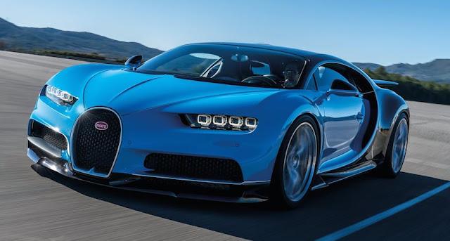 世界最速の車 ブガッティ・シロン