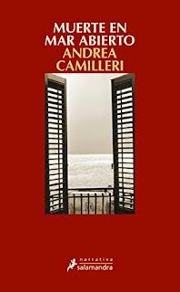 Muerte en mar abierto : y otros casos del joven Montalbano / Andrea Camilleri