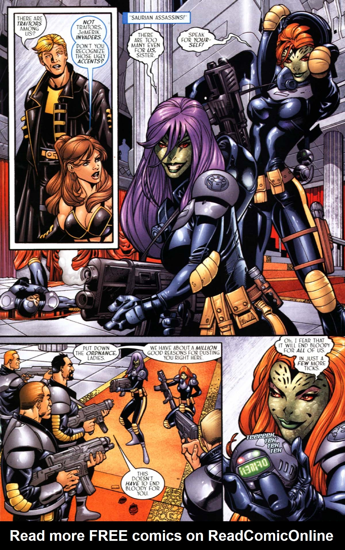 Read online Sigil (2000) comic -  Issue #21 - 21