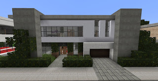 Minecraft-Modern-House-Designs-Clean-Lines