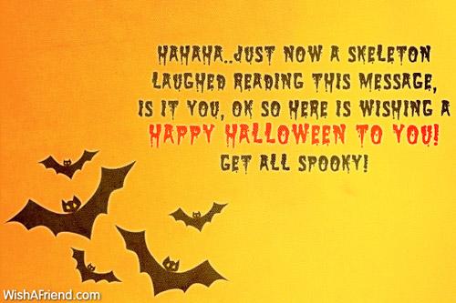 Happy Halloween messages