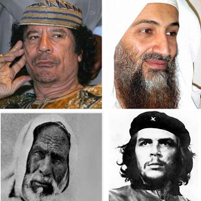 لماذا تم إخفاء مكان دفن عمر المختار وجيفارا والقذافى وابن لادن ؟