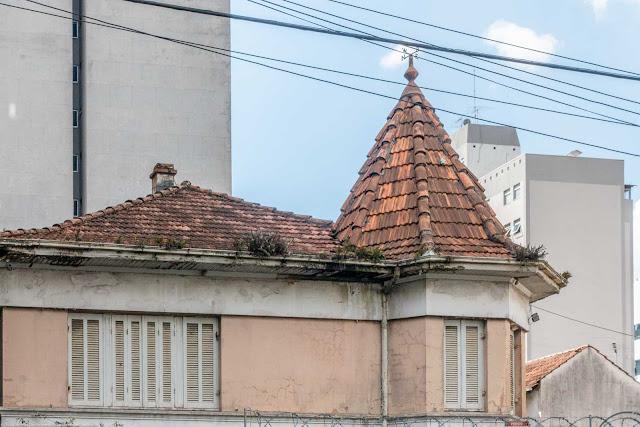 A casa de Dona Fraia Schrappe - detalhe