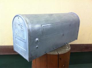 24 - カスタムペイント工程 郵便ポスト 奈良フレイムス