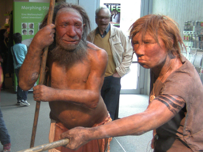 Reconstructed Neanderthals