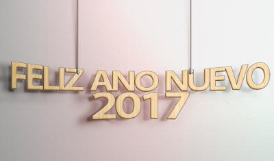 Feliz Año Nuevo 2017 HD Wallpaper PNG
