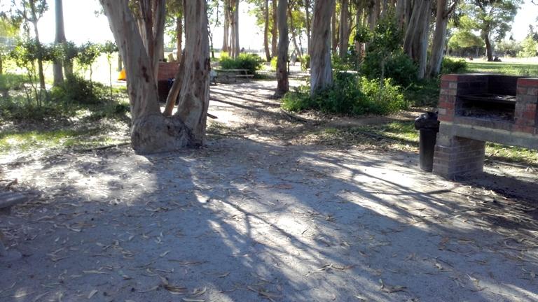 Parque de Merendas Samouco - Sombra