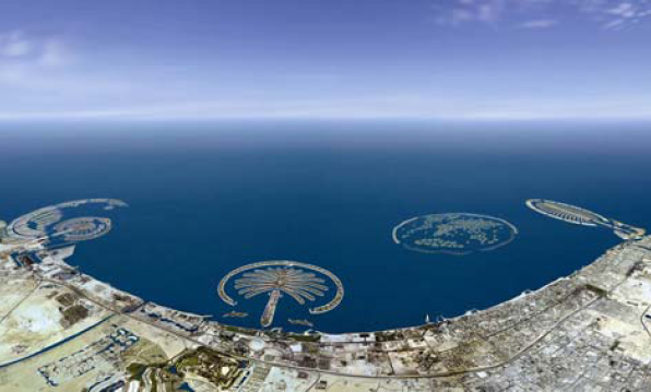 Palm Island Dubai - Umroh Plus Dubai Baitussalam