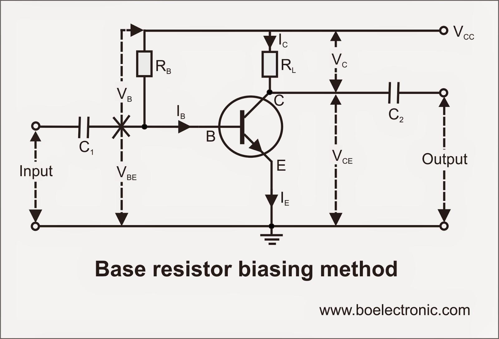 Biasing Techniques Of Transistor Bjt Manufacturer Fet