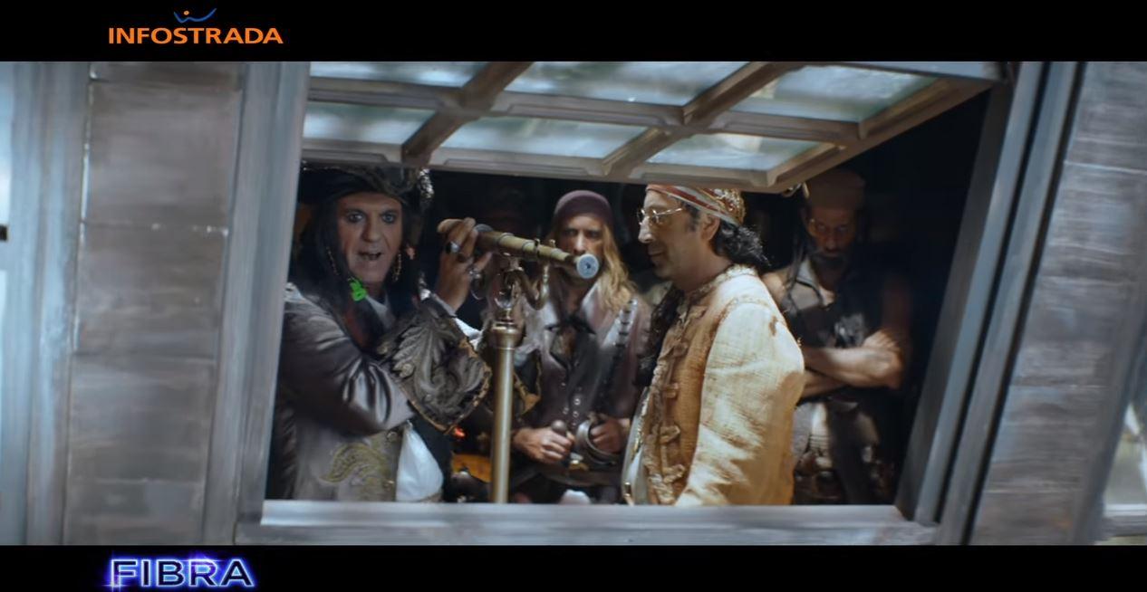 Canzone Wind Infostrada Fibra Pubblicità | Musica spot pirati e vele Settembre 2016