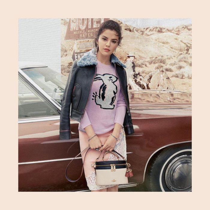 First Look at Coach x Selena Gomez Clothing Collab