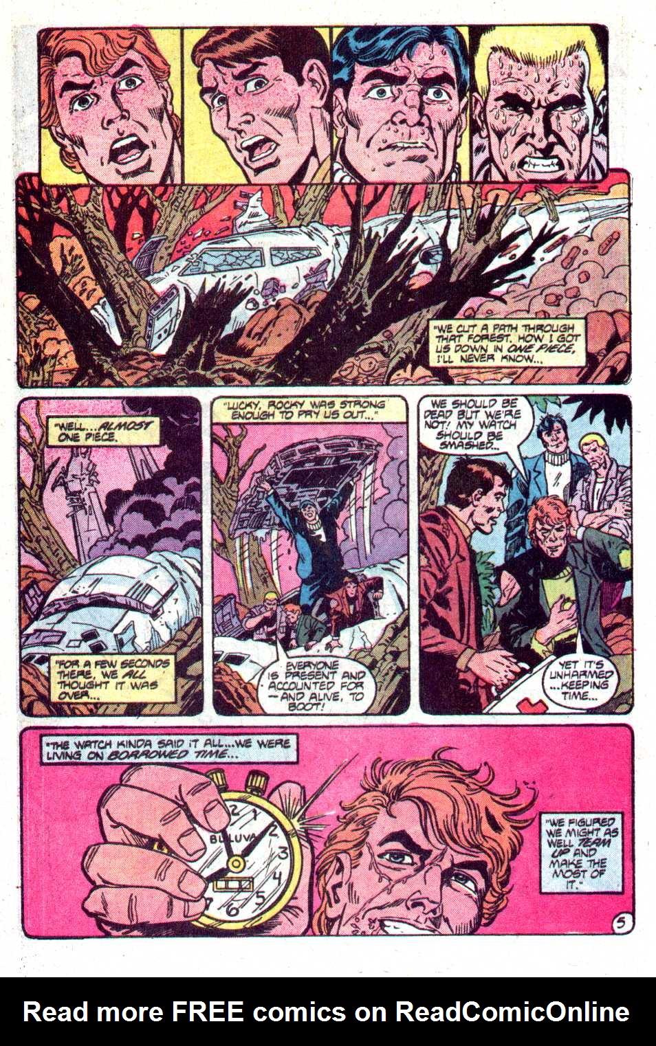 Read online Secret Origins (1986) comic -  Issue #12 - 23