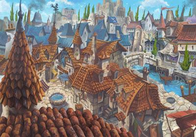 https://davidhueso.deviantart.com/art/Medieval-city-concept-372052489