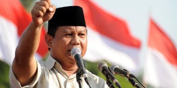 Survei Pilpres: Prabowo Tinggalkan Jokowi