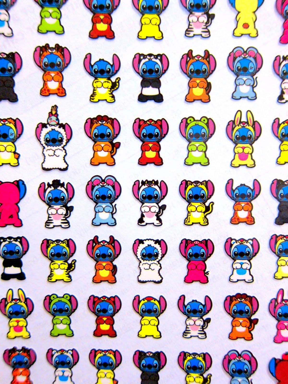 Cutetastic Disney Finds: Stitch in Disguise Stickers