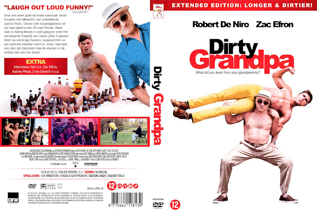 Dirty Grandpa DVD Cover
