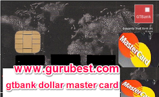 Gtbank Dollar Master Card