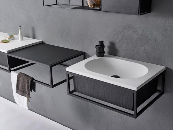 Modułowa konsola łazienkowa