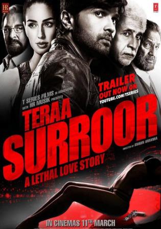 Poster Tera Surroor (2016) Hindi DVD Mkv 105MB