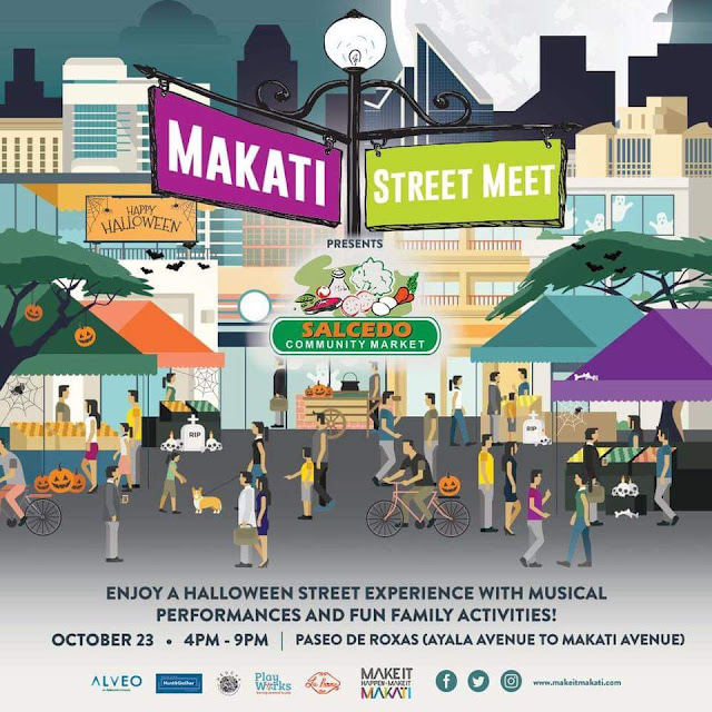 Get ready for a Trick and Treat at the Makati Culinary Street Meet