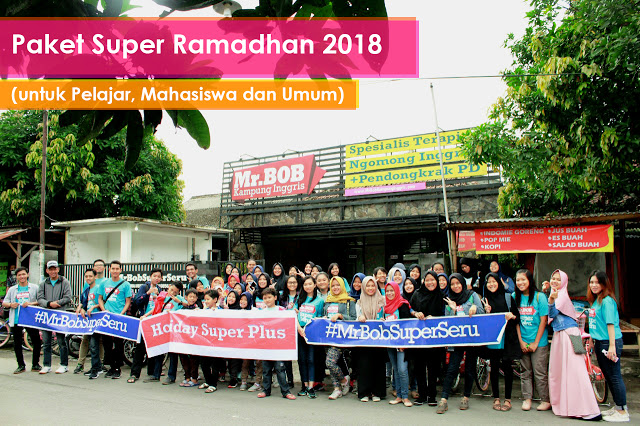 kampung inggris pare kediri mr.bob super ramadhan