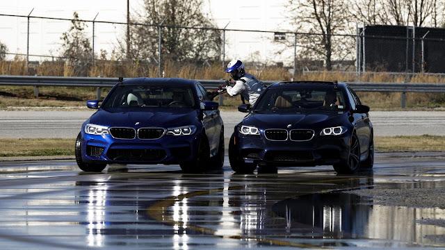 BMW M5 Drift 8 tiếng liên tục
