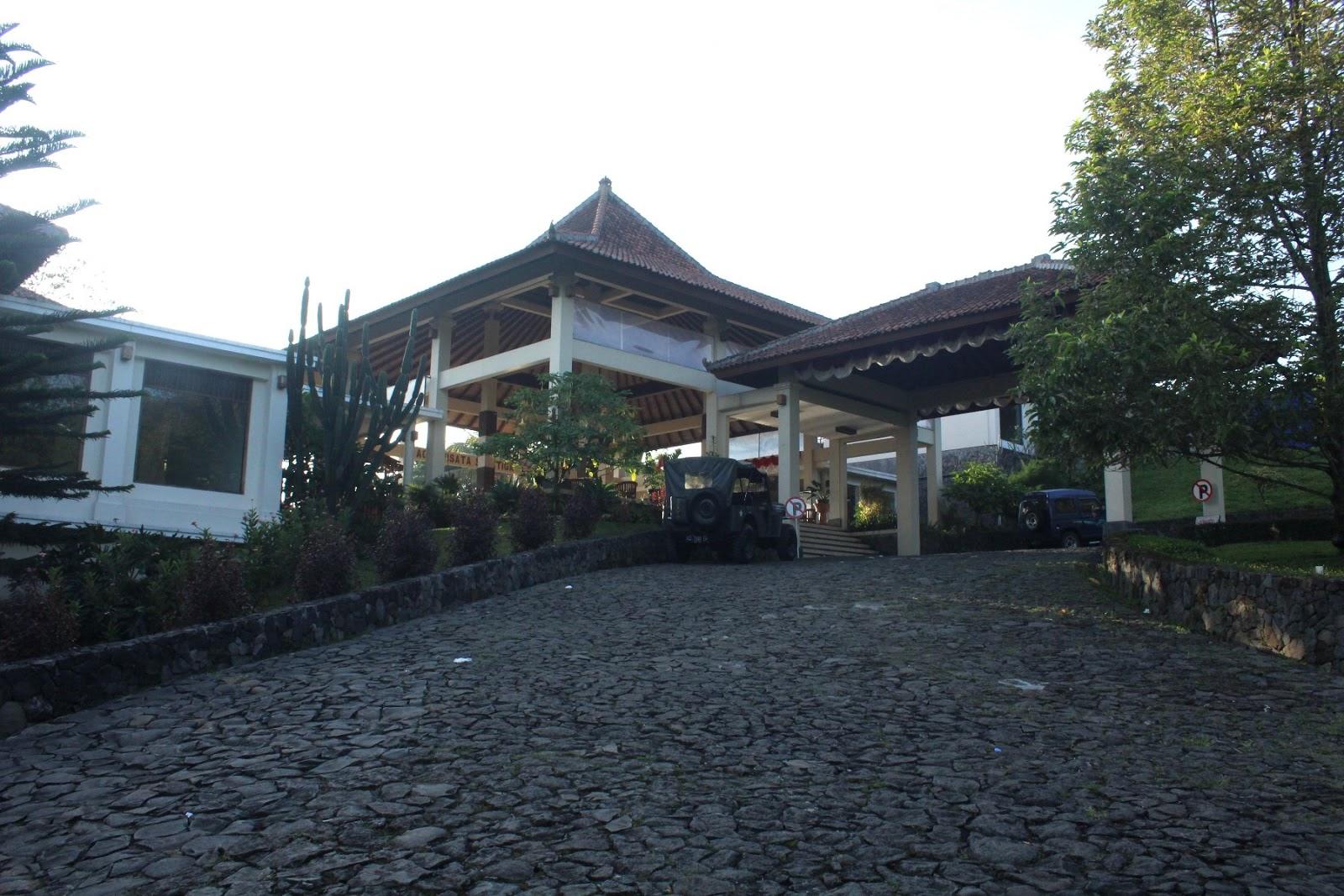 Jalan Menuju Agrowisata Hotel Salatiga