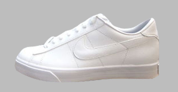 best website ab57f 203f8 I had the opportunity to purchase yet another pair of white in color, Sweet  Classic Nike tennis shoes. I mean almost crystal white.