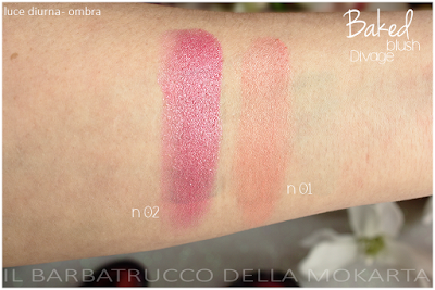 swatches Baked Blush  -  DIVAGE  - StayGlam Collection Spring/Summer 2016