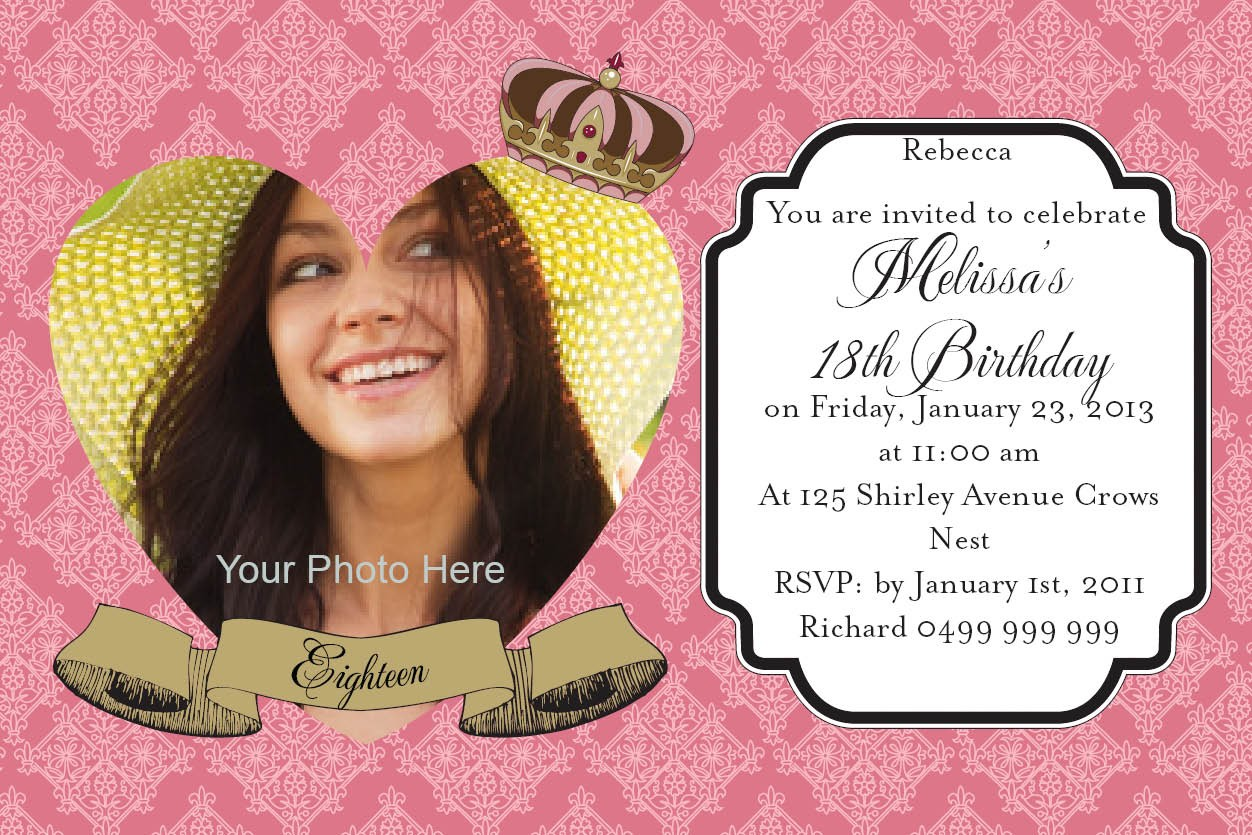 Free Birthday Invitation Templates For Adults ~ Free birthday invitations