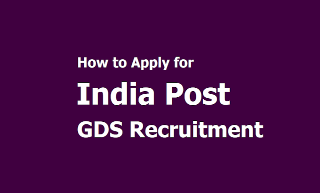 How to Apply for India Post GDS Recruitment