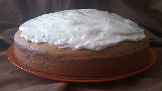 Bizcocho de calabaza con cobertura de queso y canela otoño receta con horno suave tierno jugoso esponjoso cuca