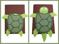 Skildpadde kort DIY